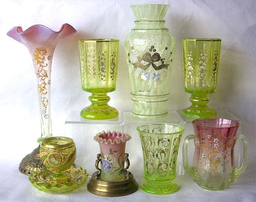 Victorian Art Glass